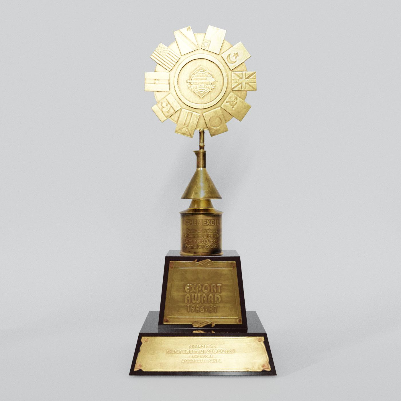 Chemexcil Export Award