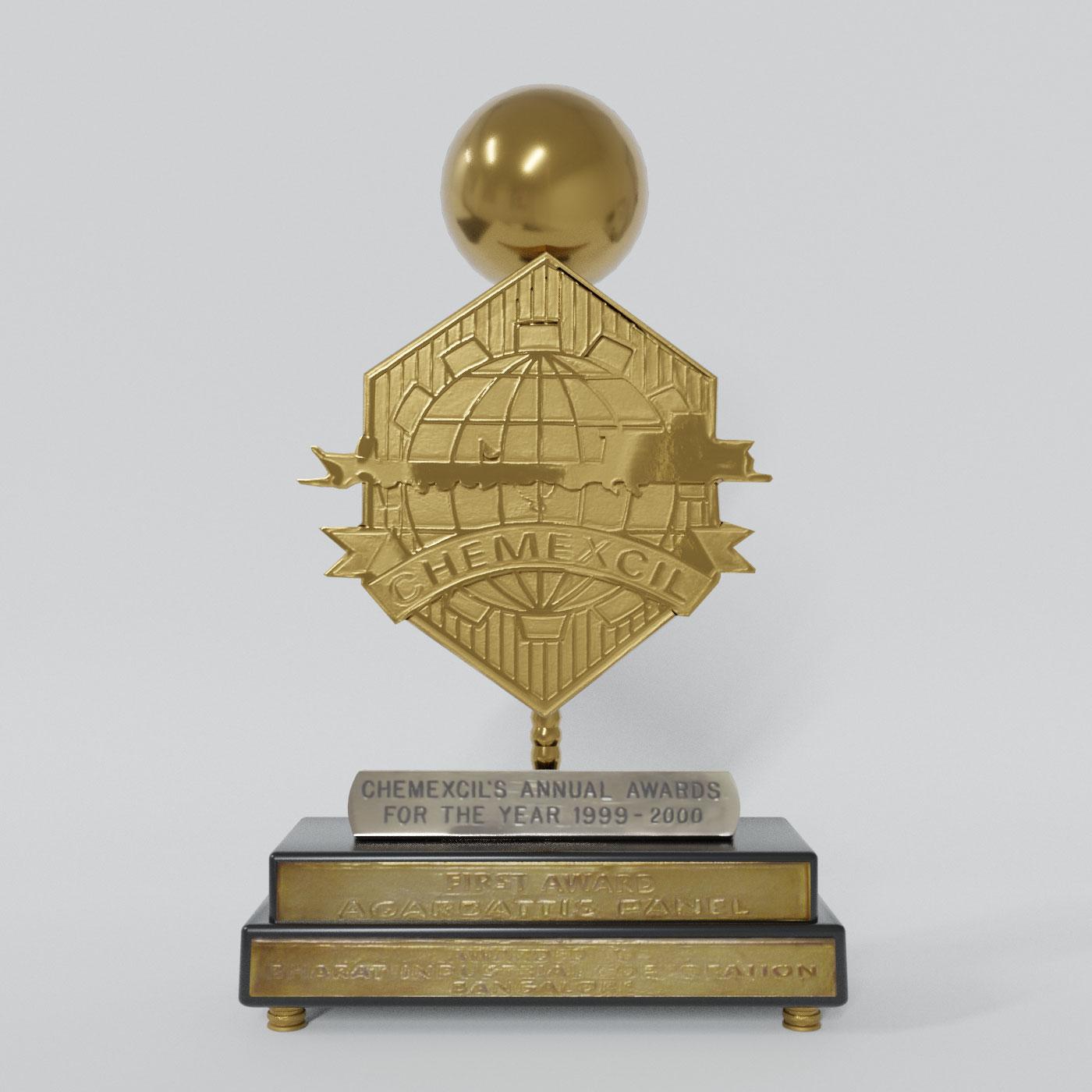 Chemexcil First Award Agarbattis Panel